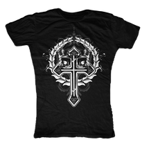 Celtic Cross Womens T-Shirt
