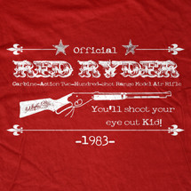 Red Ryder Rifle T-Shirt