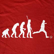 Evolution of World Soccer Cup T-Shirt