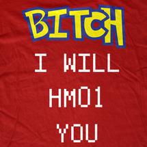 Bitch I will HM01 you! T-Shirt