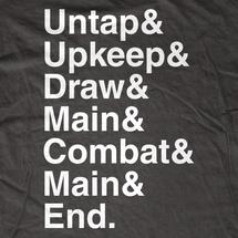 Untap& Upkeep& Draw T-Shirt
