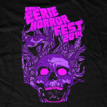 Erie Horror Fest 2014 Event T-Shirt