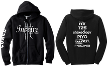 Team Inspire The Fire Coach Zip Hoodie