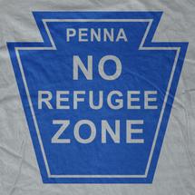 Pennsylvania No Refugee Zone T-Shirt