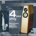 Four Sax Only - Saxophone quartet Limprevu - STS Digital - SACD