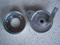 "NOS 4"" Drum Brake Assembly w/ 4 Hole Mount for Ruttman and lil Indian"