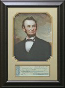 Abraham Lincoln Check Replica