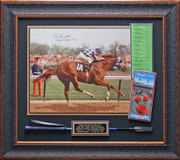 Ron Turcotte Signed Secretariat at Kentucky Derby