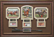 Seattle Slew Affirmed Triple Crown Champions Display