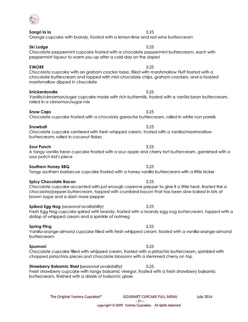 Full menu hexwebz Gallery