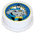 Batman 16cm Round licensed topper