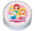 Princess 16cm Round licensed topper