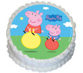 Peppa Pig 16cm Round licensed topper