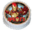 Ironman 16cm Round licensed topper