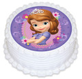 Sofia the First 16cm Round licensed topper