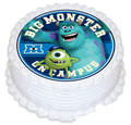 Monsters inc 16cm Round licensed topper