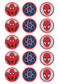 Spider-man - Standard licensed cupcakes