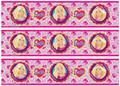 Barbie cake strips