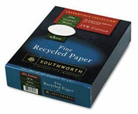 Southworth Fine Recycled Paper, Letterhead, WHITE 50% Post Consumer Recycled