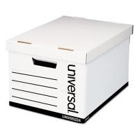 Universal Lift-Off Lid Box, Letter/Legal Size, 12w X 10h X 15d, 59% PCR, Carton/12 Boxes