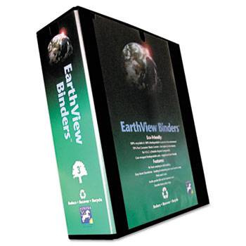 "Earthview Round Ring Presentation Binder 3"" Black"