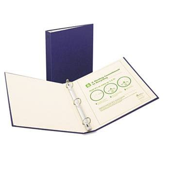 Avery Recyclable Ring Binder with EZ-Turn Rings, 1-1/2'' Blue