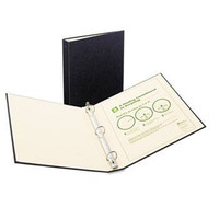 Avery Recyclable Ring Binder with EZ-Turn Rings, 1-1/2'' Black