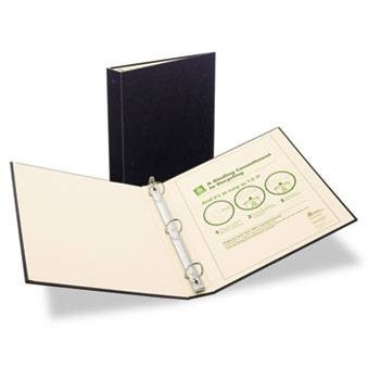 Avery Recyclable Ring Binder with EZ-Turn Rings, 3'' Black