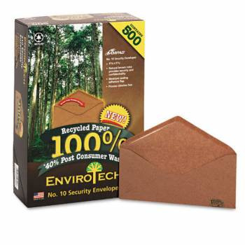 AMPAD Envirotech #10 (4-1/8 x 9-1/2) Brown