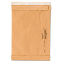 Recycled Jiffy Padded Mailers, Bulk Carton, 6 x 10 Plain Flap