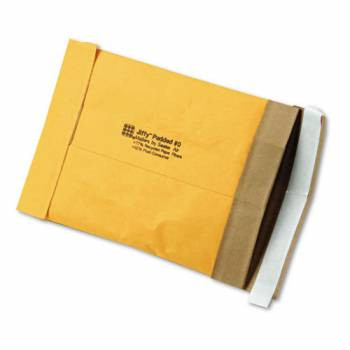 Recycled Jiffy Padded Mailers, Bulk Carton,  5-1/8 x 8-3/4 Self Seal