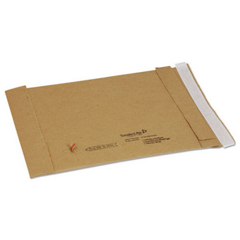 Recycled Jiffy Padded Mailer, Bulk Carton, 7-1/8 x 10-3/4 Self Seal