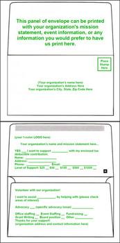 3 5/8 x 6 1/2 Remittance Plain//Unprinted