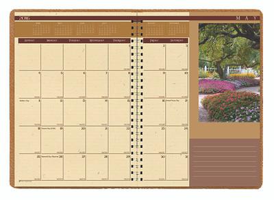 House of Doolittle (HOD523) LANDSCAPES Monthly Format Planner 7 x 10