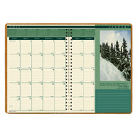 House of Doolittle (HOD524) Landscapes Monthly Format Planner 8-1/2 x 11