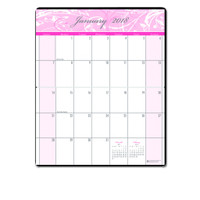 House of Doolittle (HOD246) Breast Cancer Awareness Monthly Pocket Planner 3-3/4 x 6-1/4