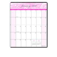 House of Doolittle (HOD246) Breast Cancer Awareness Monthly Pocket Planner 3-3/4 x 6-1/4