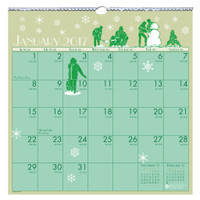 House of Doolittle (376) Illustrated Wall Calendar 12 x 12
