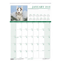 House of Doolittle (HOD3652) Earthscapes Puppies Wall Calendar 12 x 16-1/2