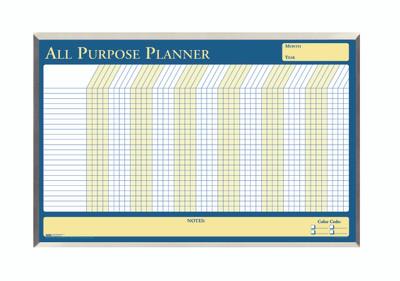 House of Doolittle (HOD6659) All Purpose Planner in Aluminum Frame