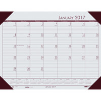 House of Doolittle (HOD12442) Ecotones Desk Pad Calendar, Gray 22 x 17