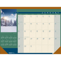 House of Doolittle (HOD168) Landscapes Desk Pad Calendar 22 x 17