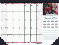 House of Doolittle (HOD1796) Earthscapes Rose Desk Pad 18-1/2 x 13