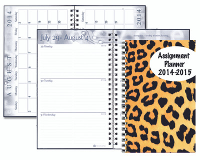 House of Doolittle (HOD274RTG64) Academic Planner with Translucent Cover 5 x 8