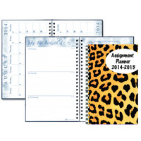 2014/2015 House of Doolittle (HOD274RTG64) Academic Planner with Translucent Cover 5 x 8