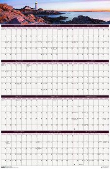 House of Doolittle (HOD3968) Earthscapes Coastlines Wall Planner 24 x 37