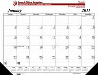 House of Doolittle Custom-Printed Desk Pad Calendar (Ordering Minimum is 100) -1