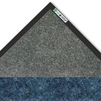 "Crown EcoStep Mat, 48"" x 72"" Midnight Blue and Charcoal"