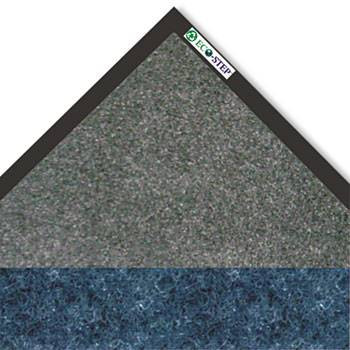 "Crown EcoStep Mat, 36"" x 120"" Midnight Blue and Charcoal"