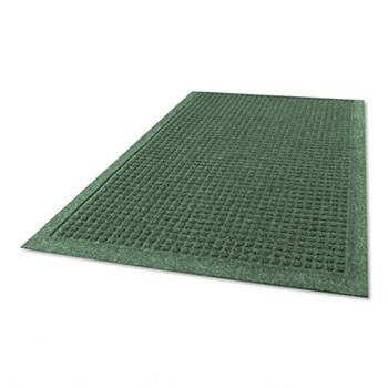 "Guardian EcoGuard Indoor Wiper Mats, Rubber, 24"" x 36"" Green"